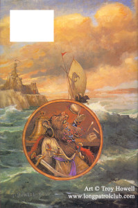 Mariel of Redwall Back CoverArt by Troy Howell