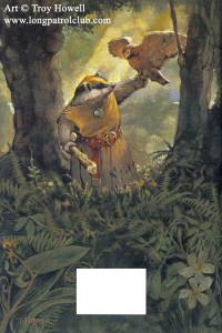 Outcast of Redwall Back CoverArt by Troy Howell